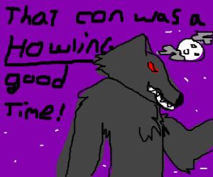 Punning around at the werewolf convention