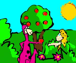 dino in the Eden