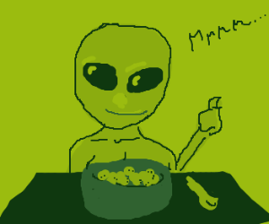 Alien Cereal is well reccomended