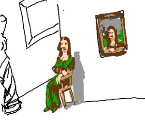 a Mona Lisa lookalike