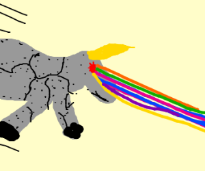 Robot Unicorn Attack.