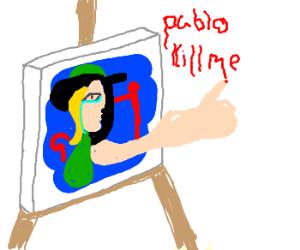 Picasso-esque Portrait Becomes Sentient