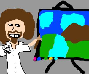 Painting like Bob Ross
