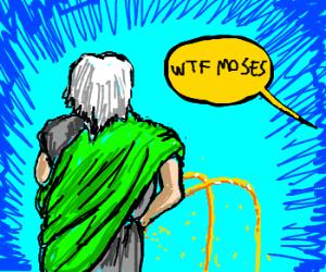 Not Funny Moses Drawception