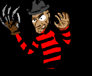 One, two, Freddy's coming for you...