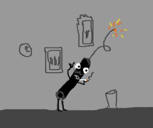 Black Dynamite in a Grey Room