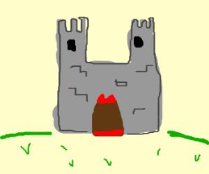 Creative way to quarantine a castle....