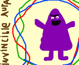 Grimace cannot die!