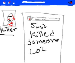 A Serial Killer's Facebook