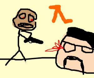 Drunken Heisenberg kills Gordon Freeman