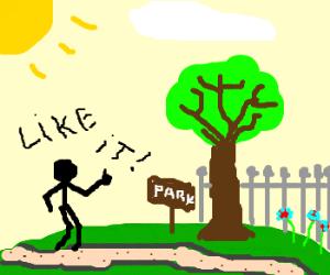 Likin' park c;