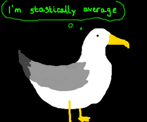 A totally acceptable seagull