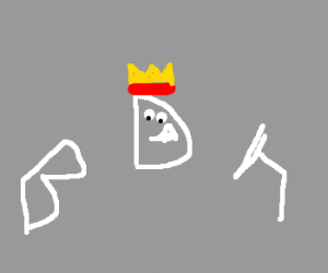 the letter d is the king