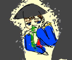 Napoleon is nauseous
