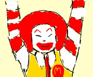 Ran Ran Ru Ronald McDonald