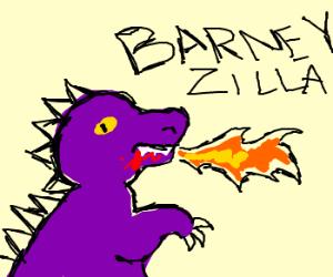BARNEY RAMPAGE!!