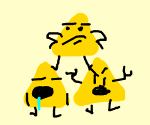 The Triforce is displeased