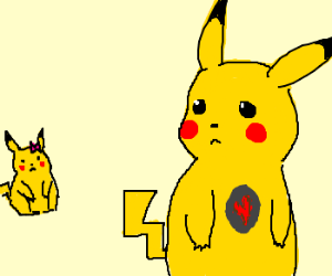 Pikachu can't fall in love