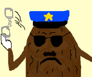 You are in trouble w/ CaliforniaRaisin officer
