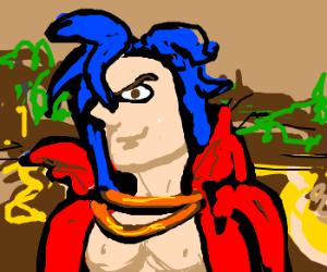 Kamina as The Mona Lisa