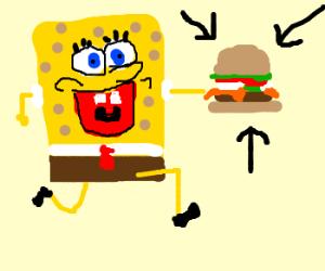 A Krabby Patty