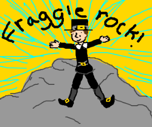 the pilgrims landed on fraggle rock