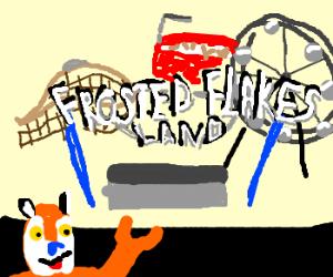 Tony the Tiger opens an amusement park.