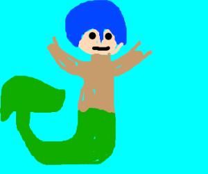 mermaid megaman