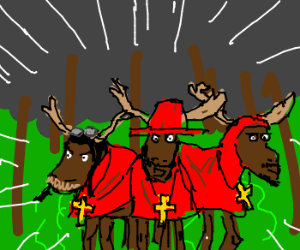 No one expects the Spanish Moose-quisition