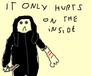 A true Goth feels no pain.