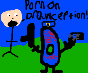 reporting porn to drawception cops