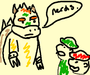 Bowser informs Mario and Luigi they are boring