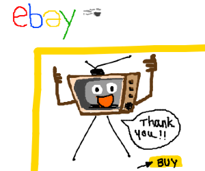 I bought a talking TV on Ebay! Awesome!