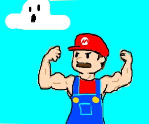 Mario is a body builder