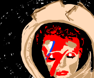 """""""This is Major Tom to ground control."""""""