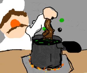 Anda now we will cooka da squirrel