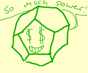 Megalomaniacal dodecahedron