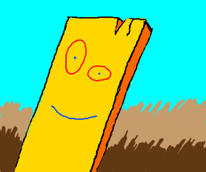 That plank from Ed Edd 'n' Eddy. - Drawception