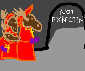 No one expects the Spanish Moose-quisition!