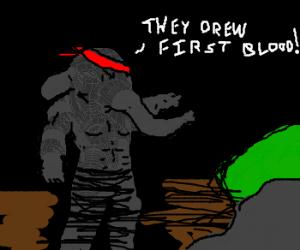 Rambolephant; First blood part