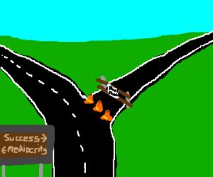 Roadblock to success