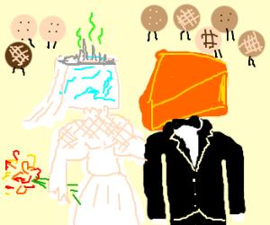 A Cheesehead wedding