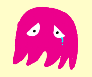 Pink Ghost Pacman