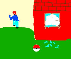 Ash turns to life of crime