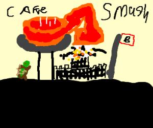 cake breaks bowsers castle