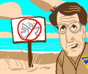 No sharkjesuses allowed