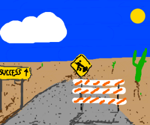 Road to success (closed for construction)