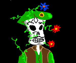 """""""Sal"""" Limones from Grim Fandango Gets Sprouted"""
