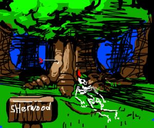 Robin Hood's skeleton found under favorite oak