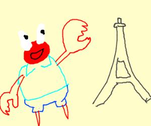 «Ici c'est la France!» ~monsieur crabe